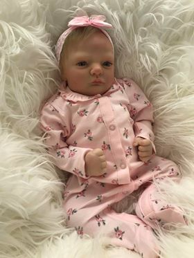 Lacey Open Eyed Reborn Doll
