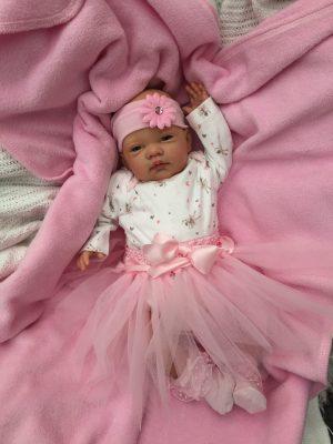 Sofia Open Eyed Reborn Doll