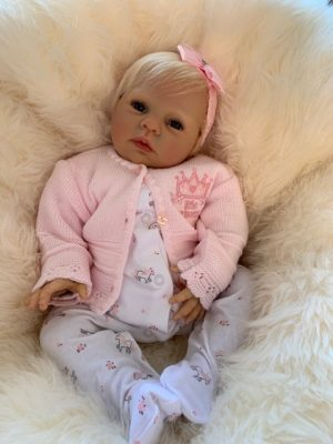 Honey Open Eyes Reborn Doll