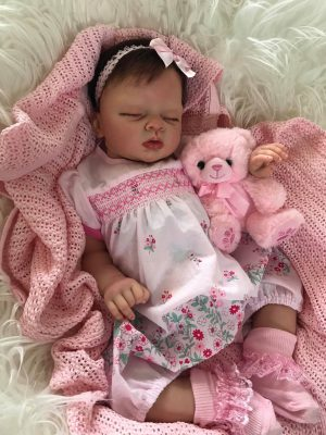 Imogen Closed Eyes Reborn Doll