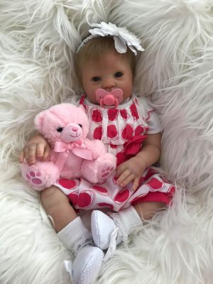 Holly Open Eyed Reborn Doll