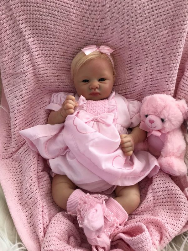 Adalyn Open Eyes Reborn Doll