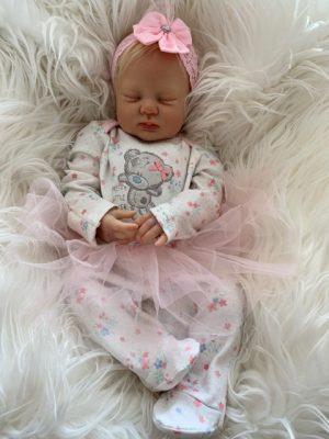 Gemma Closed Eyes Reborn Doll