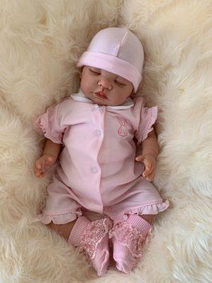 Layla Closed Eyes Reborn Doll