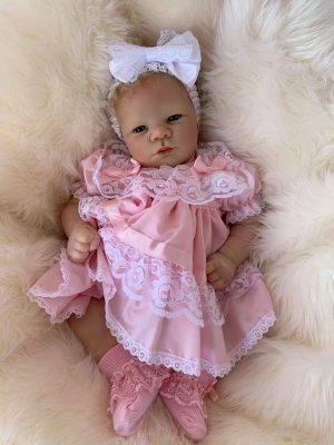Lavender Open Eyes Reborn Doll