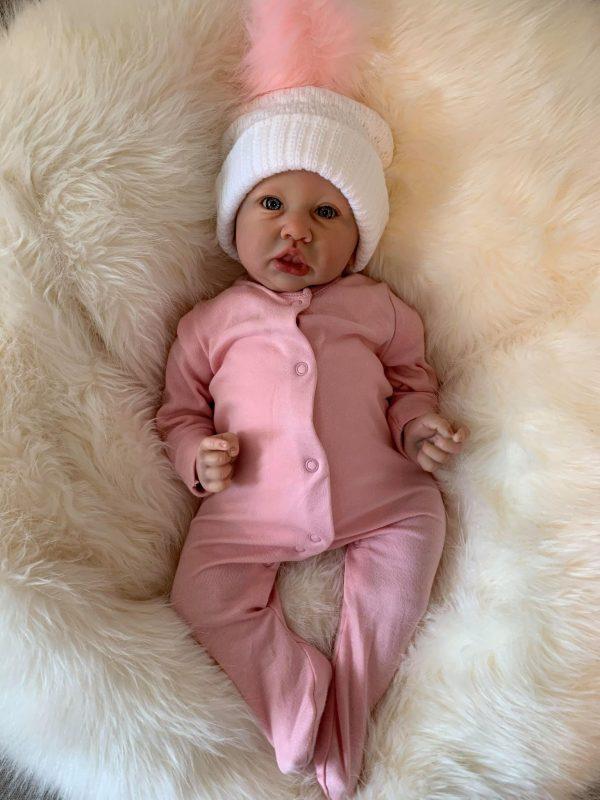 Saskia Open Eyes Reborn Doll