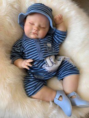 Joseph Closed Eyes Reborn Doll