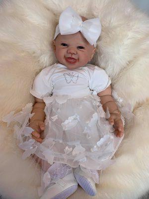 Kenzie Open Eyed Reborn Doll