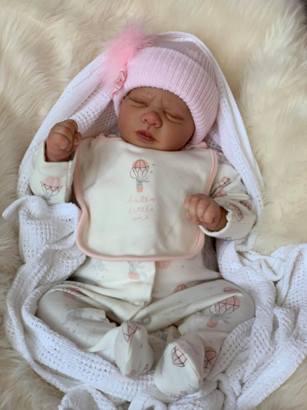 Ana Closed Eyed Reborn Doll