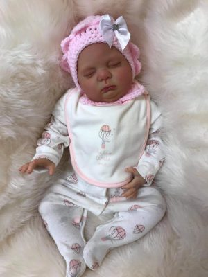 Ellie Closed Eyed Reborn Doll