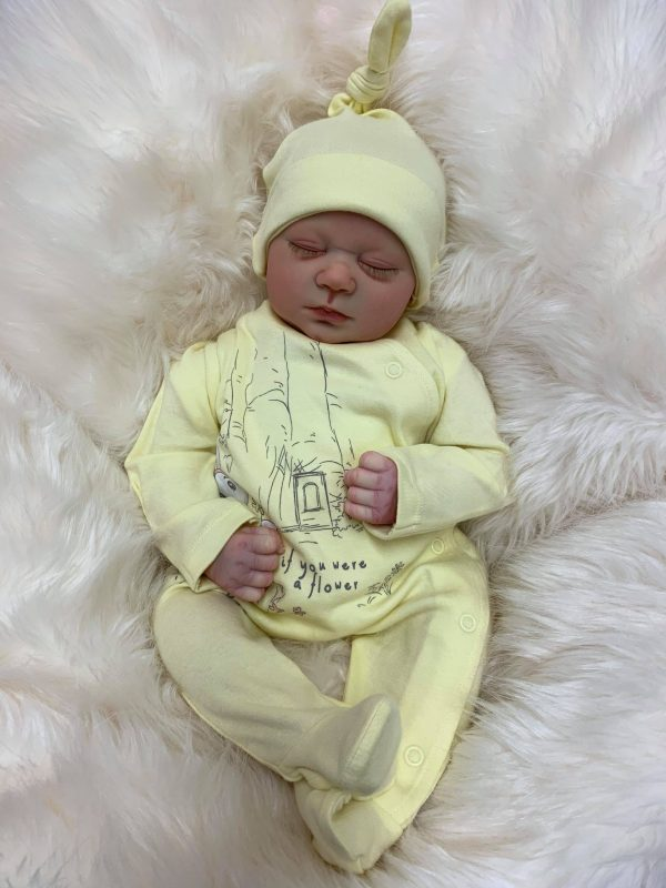 Primrose Closed Eyed Reborn Doll
