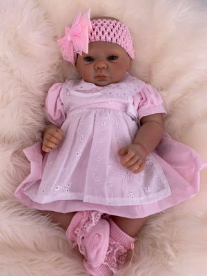 Florence Open Eyed Reborn Doll