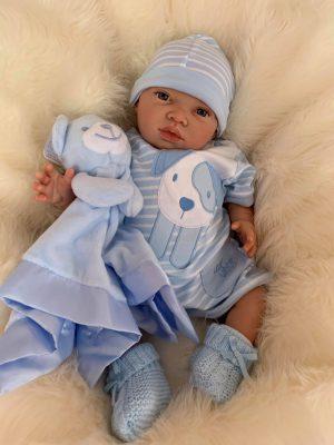 Hudson Open Eyed Reborn Doll