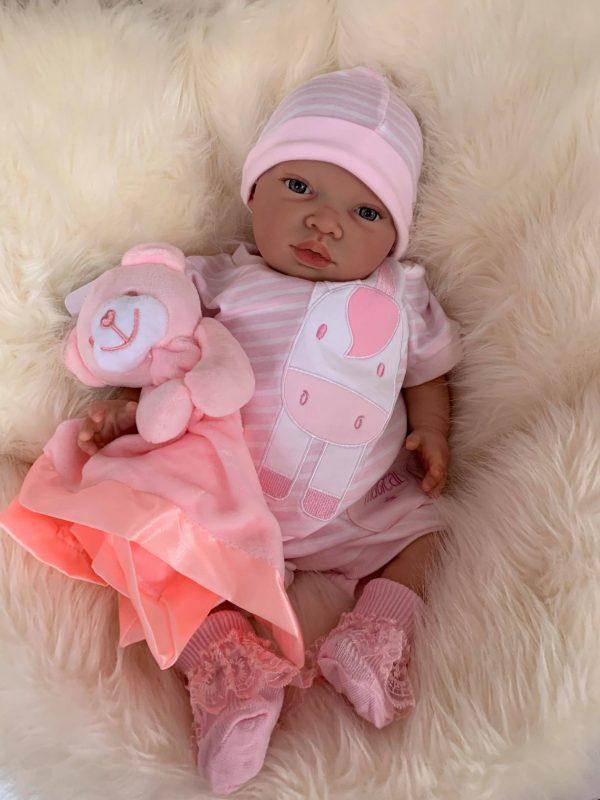 Helena Open Eyed Reborn Doll