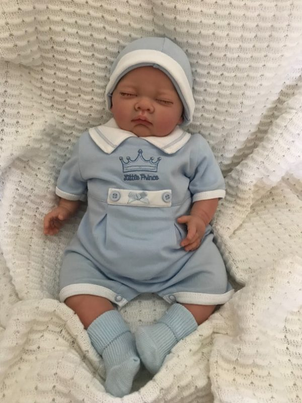 Archie Closed Eyed Reborn Doll
