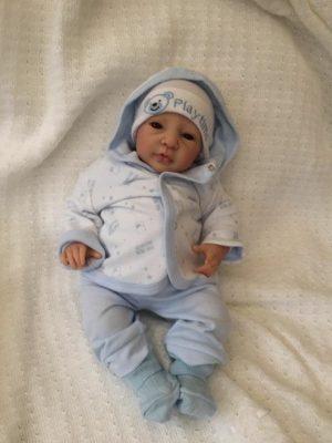 Ethan Open Eyed Reborn Doll