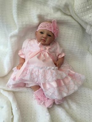 Evie Open Eyed Reborn Doll