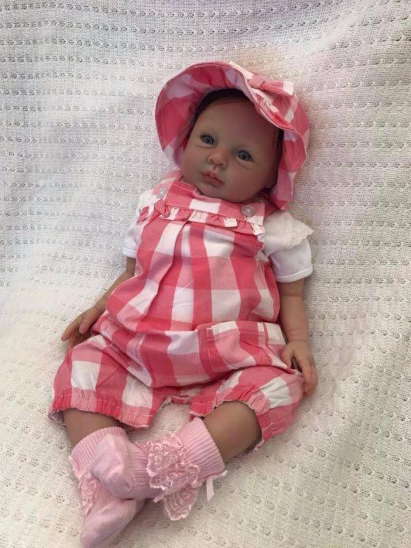 Sadie Open Eyed Reborn Doll