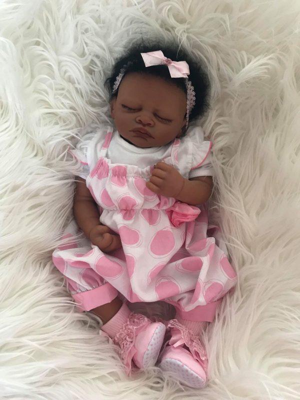 Aisha May Biracial Reborn Doll