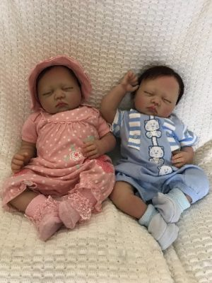 Penny and Sam Twin Reborn Dolls