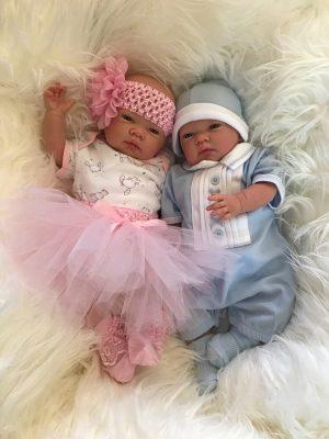 Sofia and Archie Twin Reborn Dolls