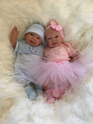 Bella and Ben Twin Reborn Dolls