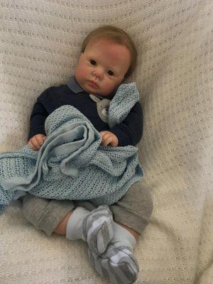 Thomas Open Eyes Reborn Doll