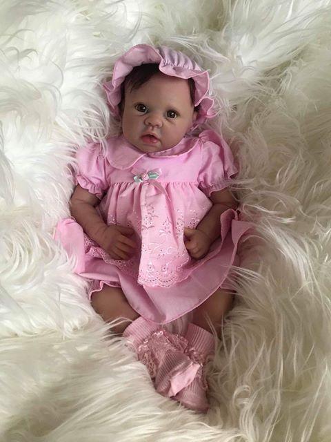 Lydia Open Eyes Reborn Doll