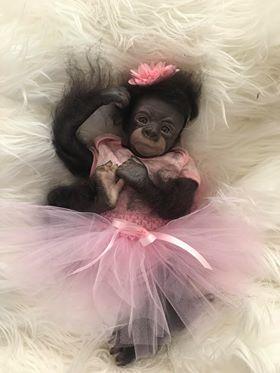 Reborn Baby Gorilla